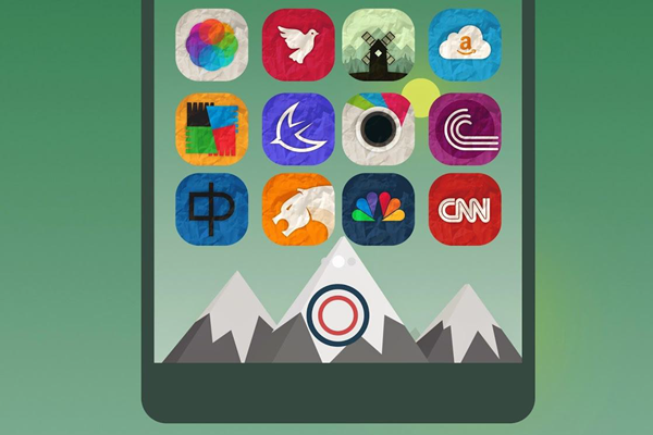 Rugos is the best 15 Nova Launcher Themes.