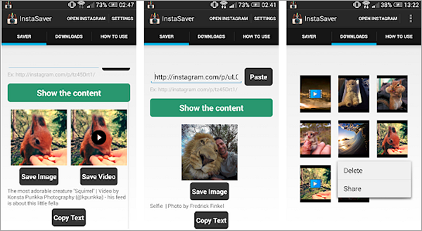 Saver Reposter for Instagram is best Apps to Download Instagram Videos and Photos on Android.