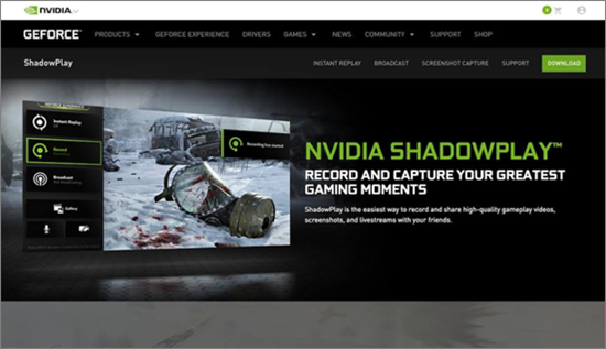 ShadowPlay is best Live Streaming Software for PC.
