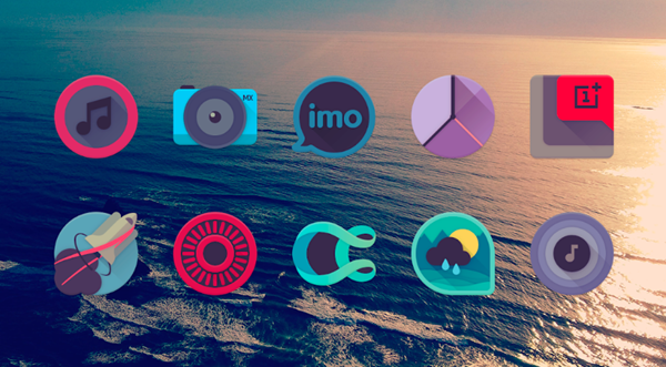 Viral is the best 15 Nova Launcher Themes.