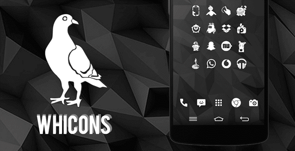 Whicons is the best 15 Nova Launcher Themes.