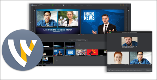 Wirecast is best Live Streaming Software for PC.