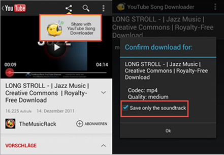 YouTube Song Downloader is one of the best YouTube Music Download Apps for Android.