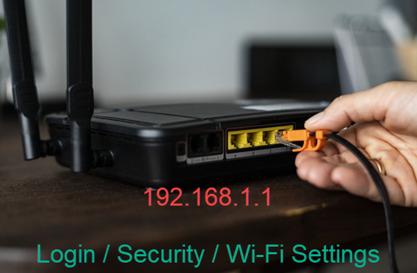 192.168.1.1 – Router Login