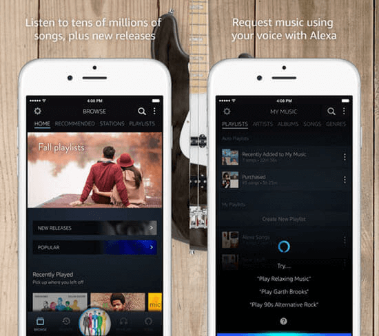 amazon music download songs to iphone