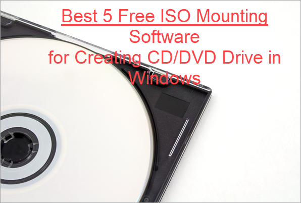 Best ISO Mounter Free Software