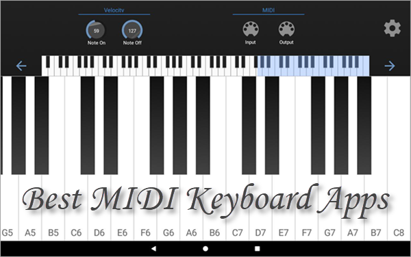6 Best Android MIDI Keyboard Apps
