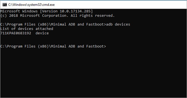 Download and Install Minimal ADB and Fastboot Tools