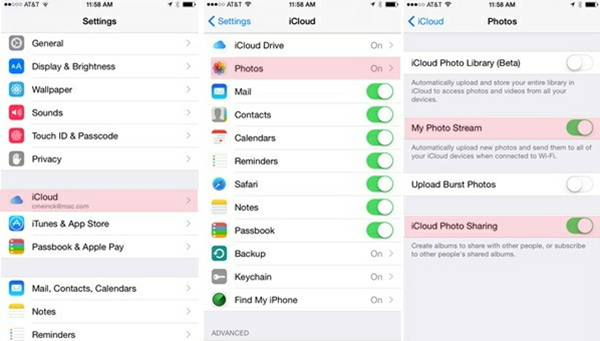 Download Photos from iCloud Photos Stream to iPhone