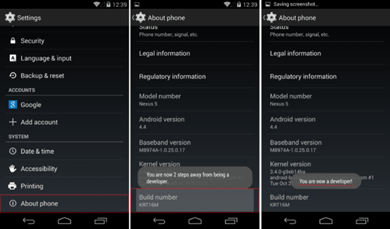 Enable and Disable USB Debugging on Android 4.2 Jelly Bean to Android 9.0 Pie.