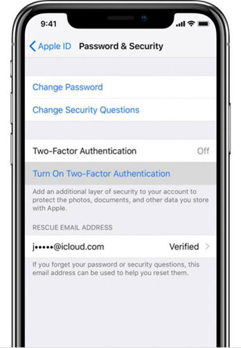 Reset Apple ID's Password with Two-Factor Authentication