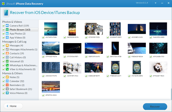 Transfer Photos Only from iCloud Backup to PC