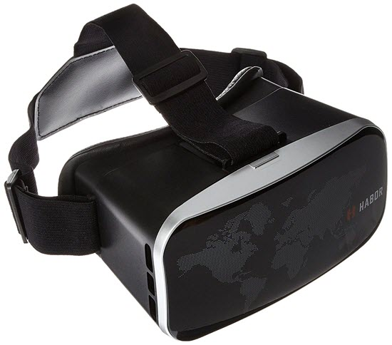 Habor 3D VR is best Virtual Reality Headsets for iPhone Users.