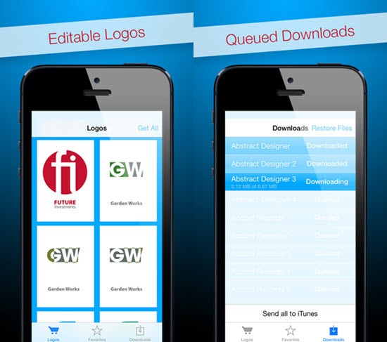Logos for Adobe InDesign is one of the Top Logo Maker Apps for iPhone.