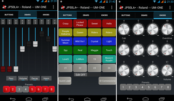 Midi Commander is one of best MIDI Keyboard Apps for Android.