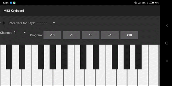 MIDI Keyboard is one of best MIDI Keyboard Apps for Android.