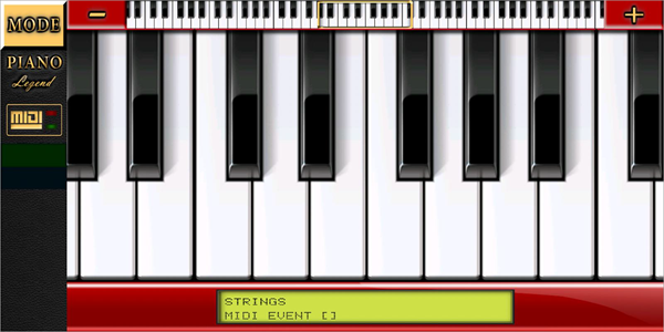 Piano MIDI Legend is one of best MIDI Keyboard Apps for Android.