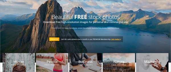 PicJumbo is Best Stock Photo Websites to Download Free Stock Photos.