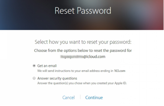 Retrieve Your Apple ID with Email Id or Security Questions