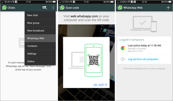 Saving Contacts Directly From WhatsApp Web