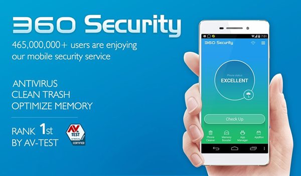 360 Security is top best Adware Removal APK for Android.