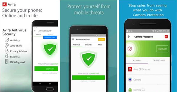 Avira Antivirus security is top best Adware Removal APK for Android.