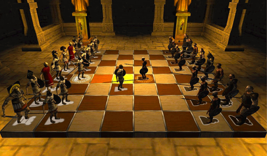 Battle Chess is one of the Best Chess Apps for iPhone.