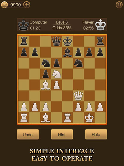 Royal Chess is one of the Best Chess Apps for iPhone.