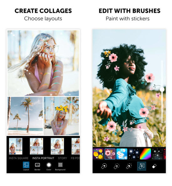 best free photo collage app for iphone 6