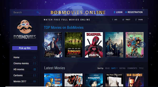 Bobmovies is best Sites Like FMovies to Download Movies and TV Shows.