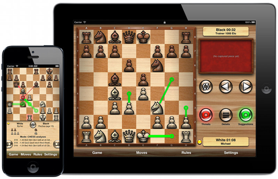 Chess Tiger Lite is one of the Best Chess Apps for iPhone.
