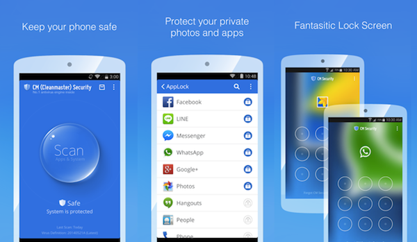CM Security is top best Adware Removal APK for Android.