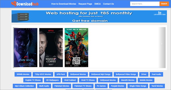 Download Hub is best Sites Like FMovies to Download Movies and TV Shows.