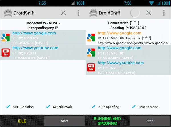 Droidsniff is one of the top Hacking Apps for Android Phones.