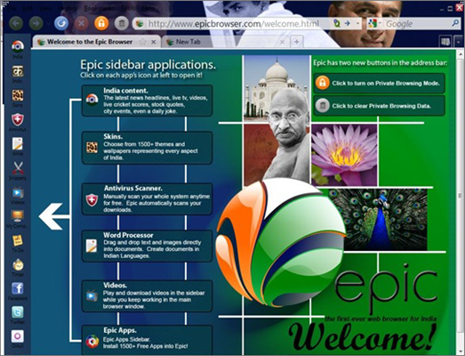 Epic Privacy Browser is one of the Top Best VPN Browsers Online for PC, Mac, Android & iOS.