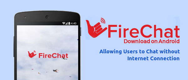 FireChat is Top Free Walkie Talkie Apps to Call and Text without Internet Connection.
