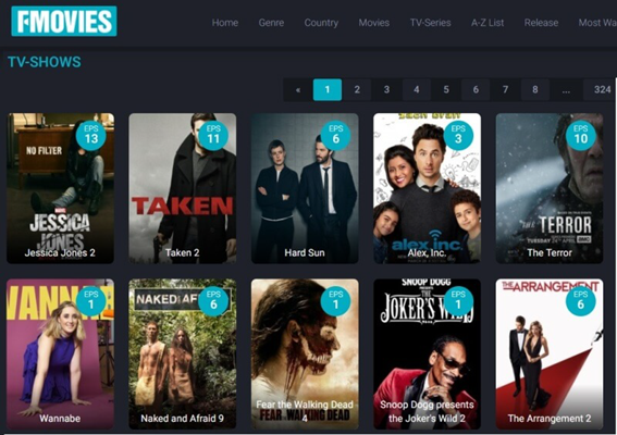 tv series sites to download