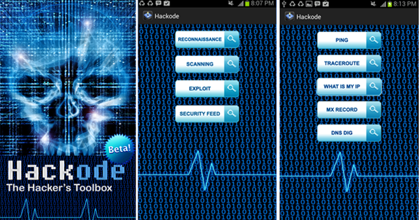 Hackode is Top Hacking Apps for Android Phones without Root.
