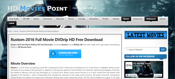 HD Movies Point is best Sites Like FMovies to Download Movies and TV Shows.