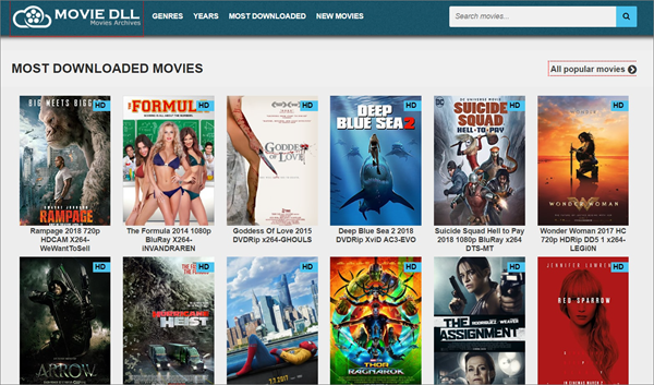 free legal movie sites online