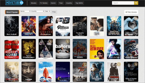 Movie Tube is best Sites Like FMovies to Download Movies and TV Shows.