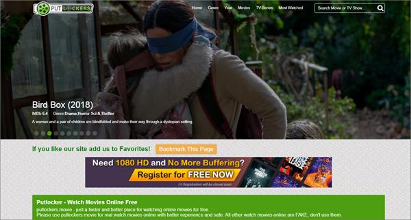 Putlocker is Best Free Movie Streaming Sites like Pubfilm.