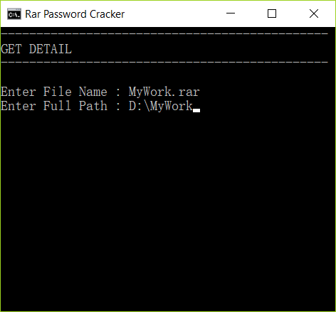 How to Remove Password from RAR File without Software