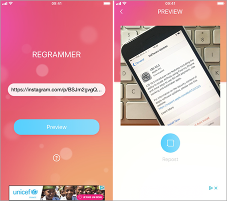 Regrammer is one of best Instagram Video Downloaders for Android and PC.