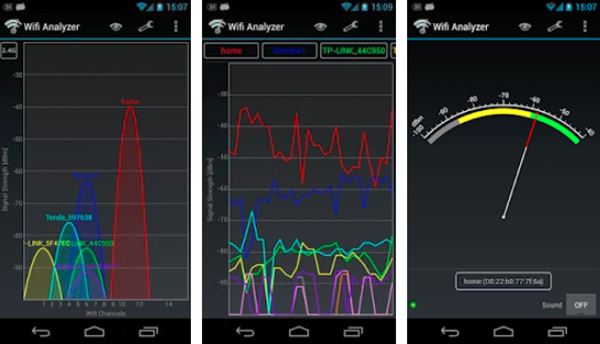 WiFi Analyzer is one of the top Hacking Apps for Android Phones.