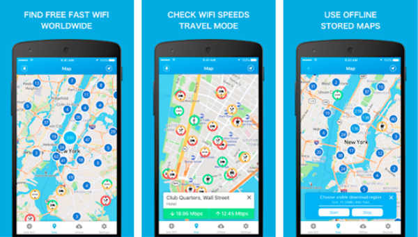 WiFi Finder is one of the top Hacking Apps for Android Phones.