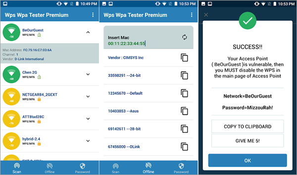 WiFi WPS WPA Tester is Top Hacking Apps for Android Phones without Root.