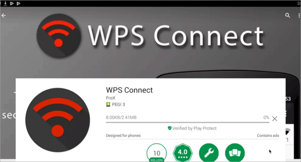 WPS Connect is Top Hacking Apps for Android Phones without Root.