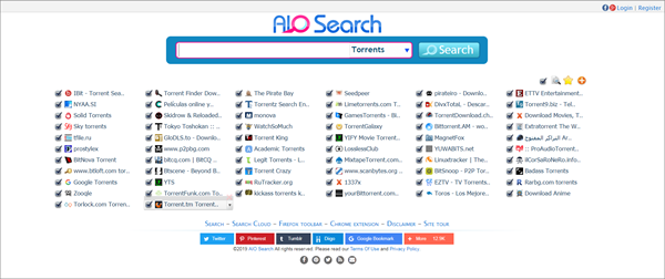AIO Search is one of the best Torrent Websites to Download Malayalam Movies.