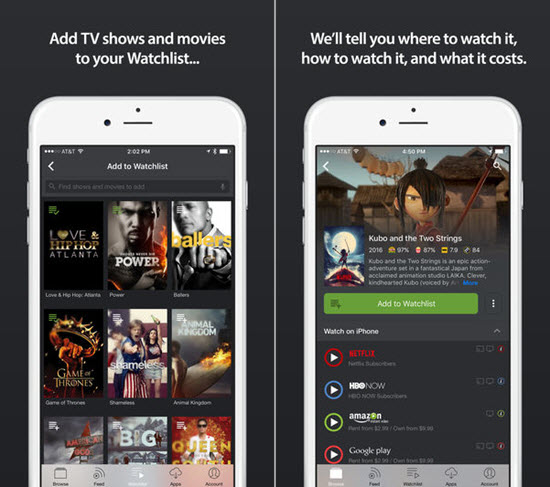 movies streaming app 2016
